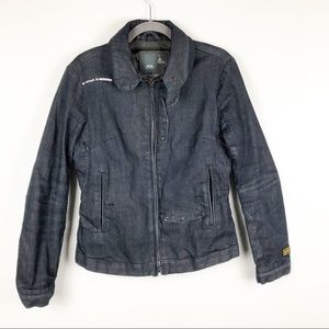 "G-Star Raw ""96"" Denim Zip Lined Jacket"